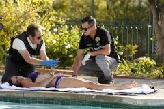 """Seriál Kriminálka Las Vegas, sedmý díl """"Cesta k nápravě"""" (sezona 15)."""