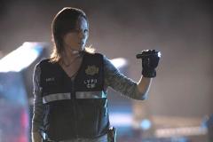 """Seriál Kriminálka Las Vegas, čtrnáctý díl """"Kupčení s hrůzou"""" (sezona 15)."""